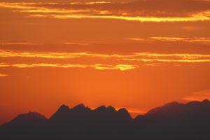 paysage de montagne les levés de soleil de Laurent Guillemin